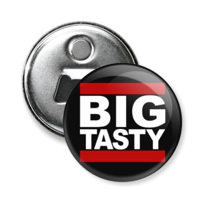 Магнит-открывашка Big Tasty