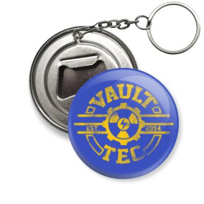 Брелок-открывашка Fallout. Vault-Tec