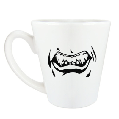 Чашка Латте ' Рычащая'