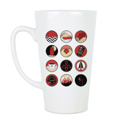 Чашка Латте Сериал Твин Пикс Twin Peaks