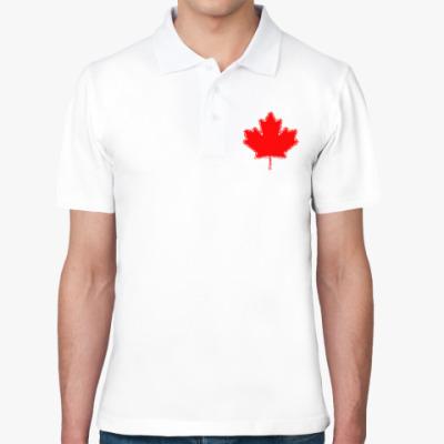 Рубашка поло Кленовый лист