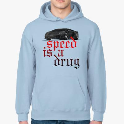 Толстовка худи Speed is a drug