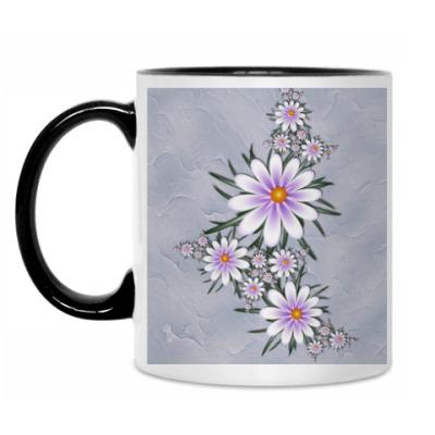 Кружка Нежные цветы