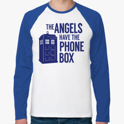 Футболка реглан с длинным рукавом The Angels Have The Phone Box