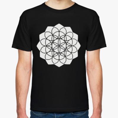 Футболка Mandala (Цветок жизни)