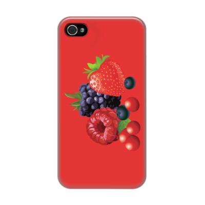 Чехол для iPhone 4/4s Ягоды