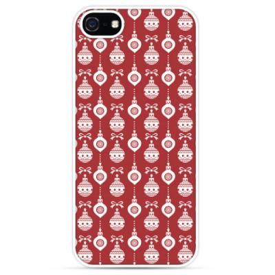 Чехол для iPhone Новогодний орнамент