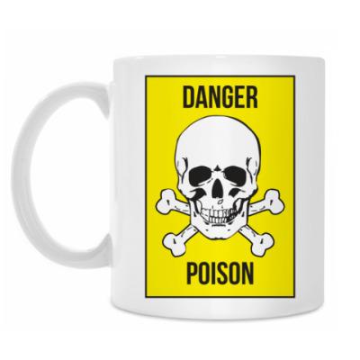 Кружка 'Danger Poison'