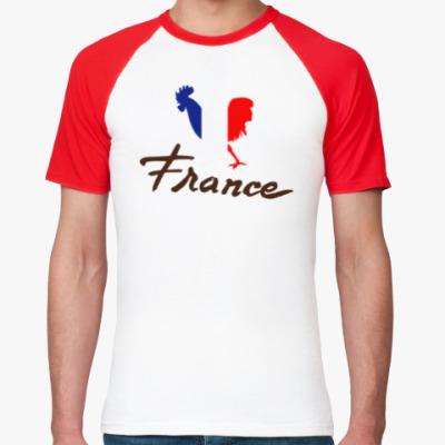 Футболка реглан Франция