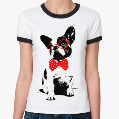 Женская футболка Ringer-T DOG