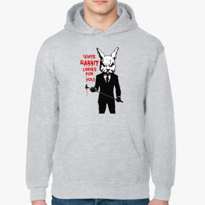 Толстовка худи White Rabbit Comes For You !