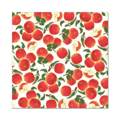 Наклейка (стикер) яблочки