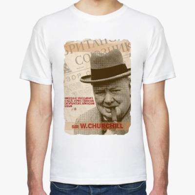 Футболка Черчиль