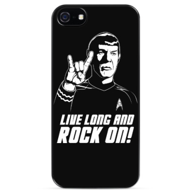 Чехол для iPhone Live Long And Rock On!