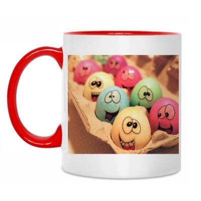 Кружка Пасхальные яйца