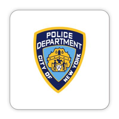 Костер (подставка под кружку) NYPD