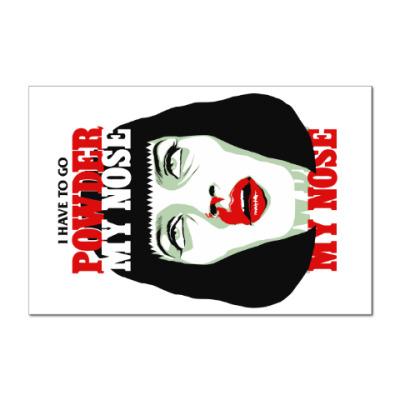 Наклейка (стикер) Mia Wallace Pulp Ficton