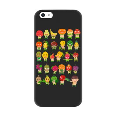Чехол для iPhone 5c Фрукты, Овощи и Ягоды