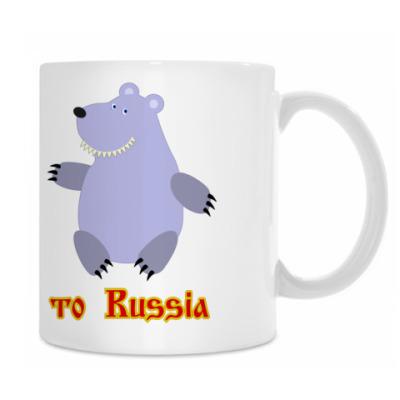 Кружка Russian bears