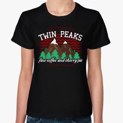 Женская футболка Сериал Твин Пикс Twin Peaks