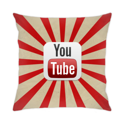 Подушка YouTube