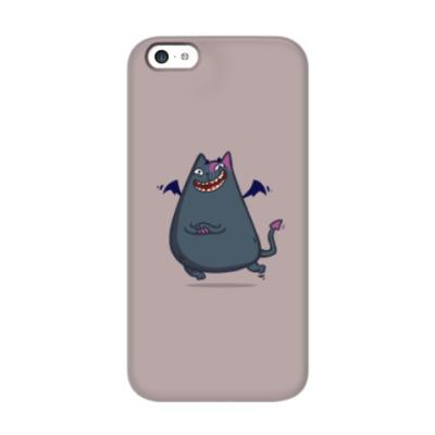 Чехол для iPhone 5c Бесокот — Пятничный Котик №43
