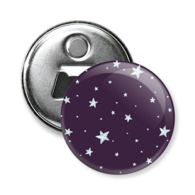Магнит-открывашка Звездное небо