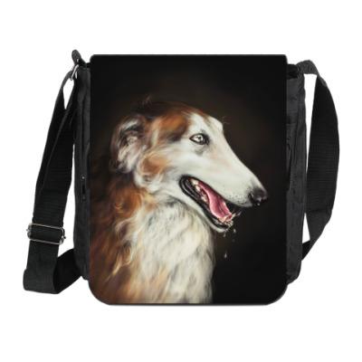 Сумка на плечо (мини-планшет) Собака