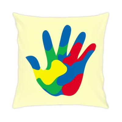 Подушка Отпечаток Руки