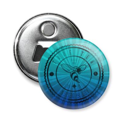Магнит-открывашка Логотип True10art