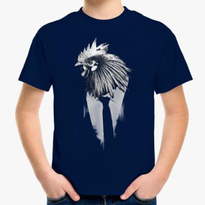 Детская футболка Петух, талисман года