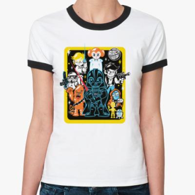 Женская футболка Ringer-T Star Wars