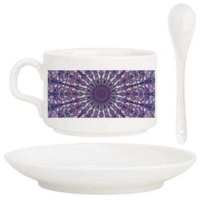 Кофейный набор узор мандала,Ажур,кружево,lace,восточный,орнамент