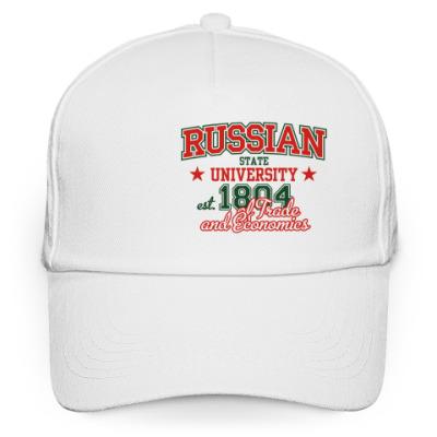 Кепка бейсболка Торгово-экономический, РГТЭУ