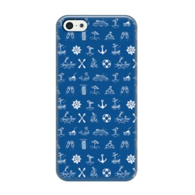 Чехол для iPhone 5/5s Морские каникулы