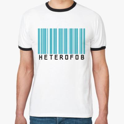 Футболка Ringer-T Гетерофоб