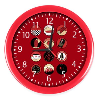 Настенные часы Сериал Твин Пикс Twin Peaks