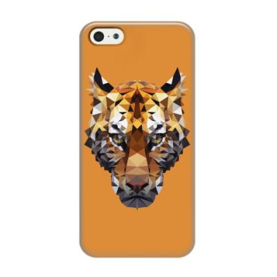 Чехол для iPhone 5/5s Тигр / Tiger