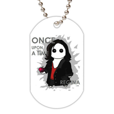 Жетон dog-tag Once Upon A Time OUAT