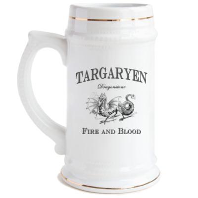 Пивная кружка Targaryen