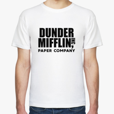 Футболка Dunder Mifflin / The Office