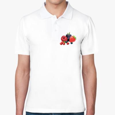 Рубашка поло Ягоды