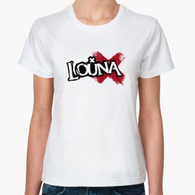 Классическая футболка Женская футболка Время Х
