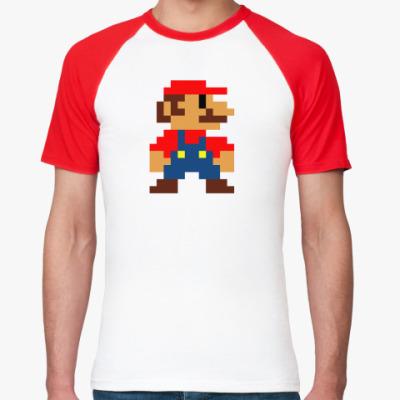 Футболка реглан  'Марио'