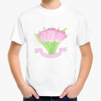 Детская футболка Тюльпаны