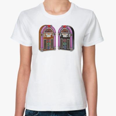 Классическая футболка футболка ж Old