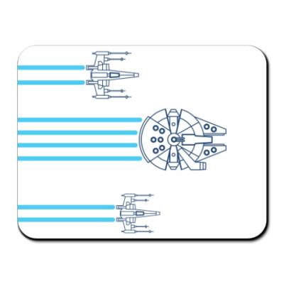 Коврик для мыши звёздные войны (Star wars)