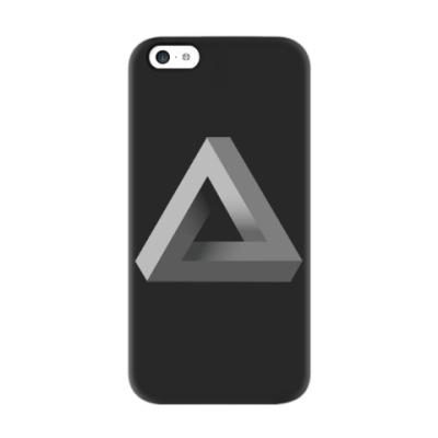 Чехол для iPhone 5c Невозможный Треугольник 3D