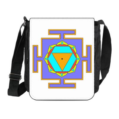 Сумка на плечо (мини-планшет) Бала-Шакти-янтра
