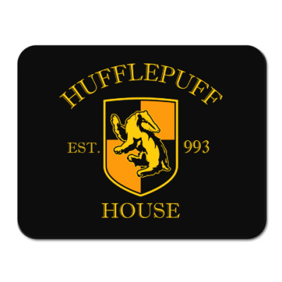 Коврик для мыши Hufflepuff
